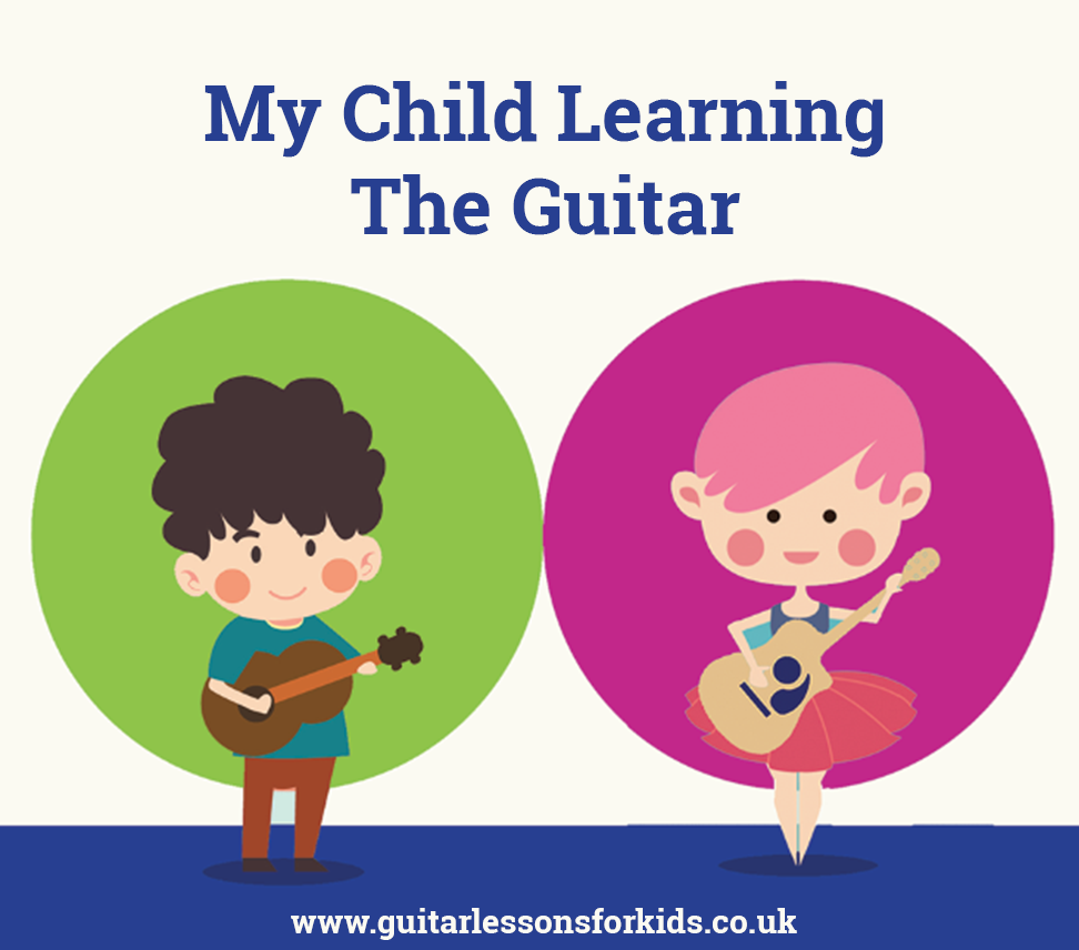Learning the guitar for children