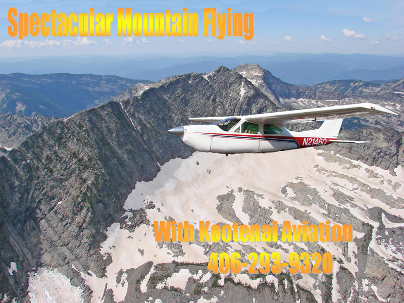Kootenai Aviation Scenic Tours Libby Montana