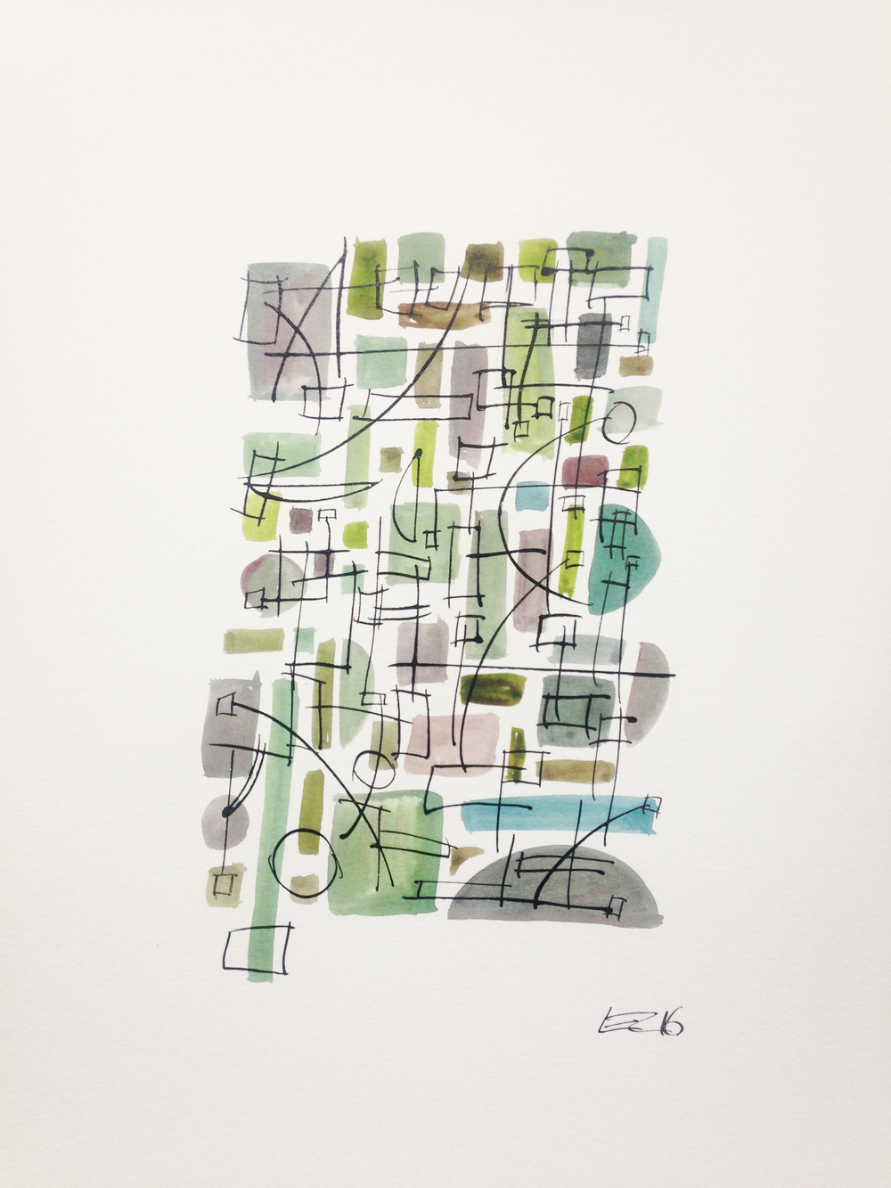 Green With Lines_11x15_ink_wc_wc.jpg