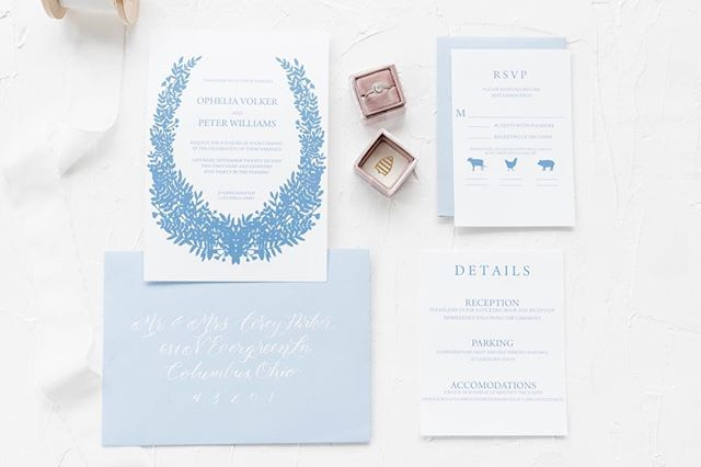 Here's something pretty for your Friday afternoon! Can't wait to share the new website and invitations next week. Only 4 days left! This suite also has coordinating save the dates aaaaand day of details so you can keep the same theme from start to finish! Photo by @sweetwilliamsphotography • • • #calligraphy #moderncalligraphy #handlettered #handlettering #leftylettering #leftylligraphy #weddingcalligraphy #weddinginspo #weddinginvitations #ido #theknotweddings #engaged #2019bride #2018bride #bridetobe #bride #isaidyes #weddingplanning #engagementring #marthaweddings #columbus #ohiowedding #columbuscalligrapher #columbuswedding #614 #luxuryweddings #weddingstationery @themrsbox