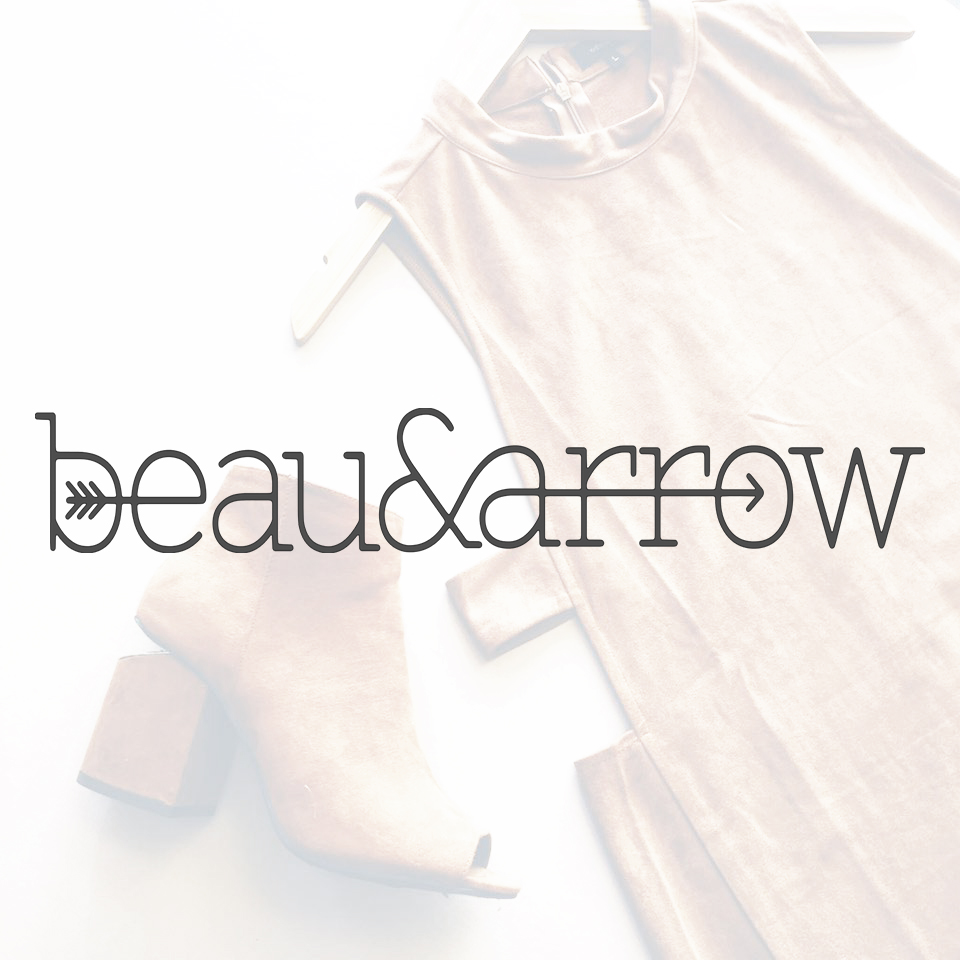 Beau & Arrow   A locally owned boutique carrying unique, trendy clothing for any occasion. Originating from Owasso, Oklahoma Beau & Arrow has opened their second store in the Boxyard.