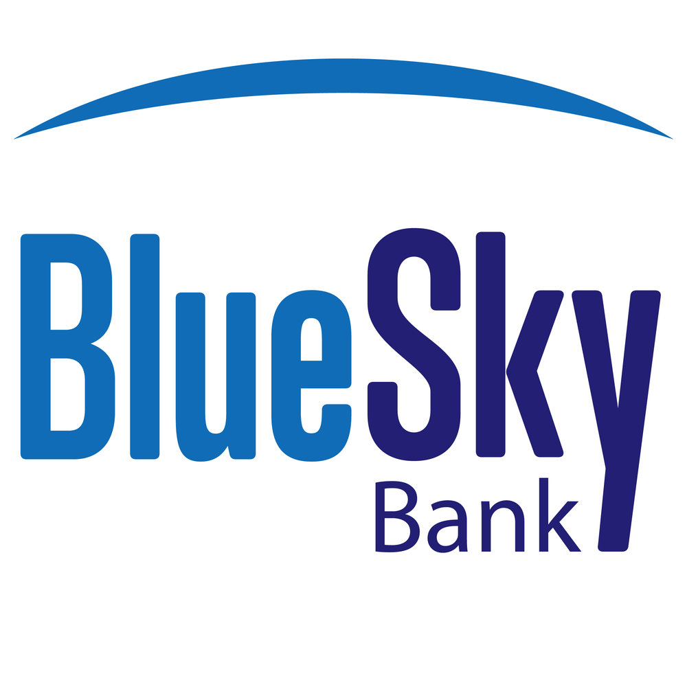 Blue Sky Bank   Founded in 1905, Blue Sky Bank is proud to be Oklahoma born and 100% Oklahoma owned. With the strength of more than a century of banking experience, Blue Sky Bank delivers forward-thinking vision and creative solutions for maximizing opportunities for both our personal and commercial customers.