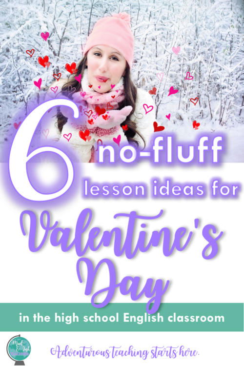 No Fluff Valentine's Day Lessons for ELA