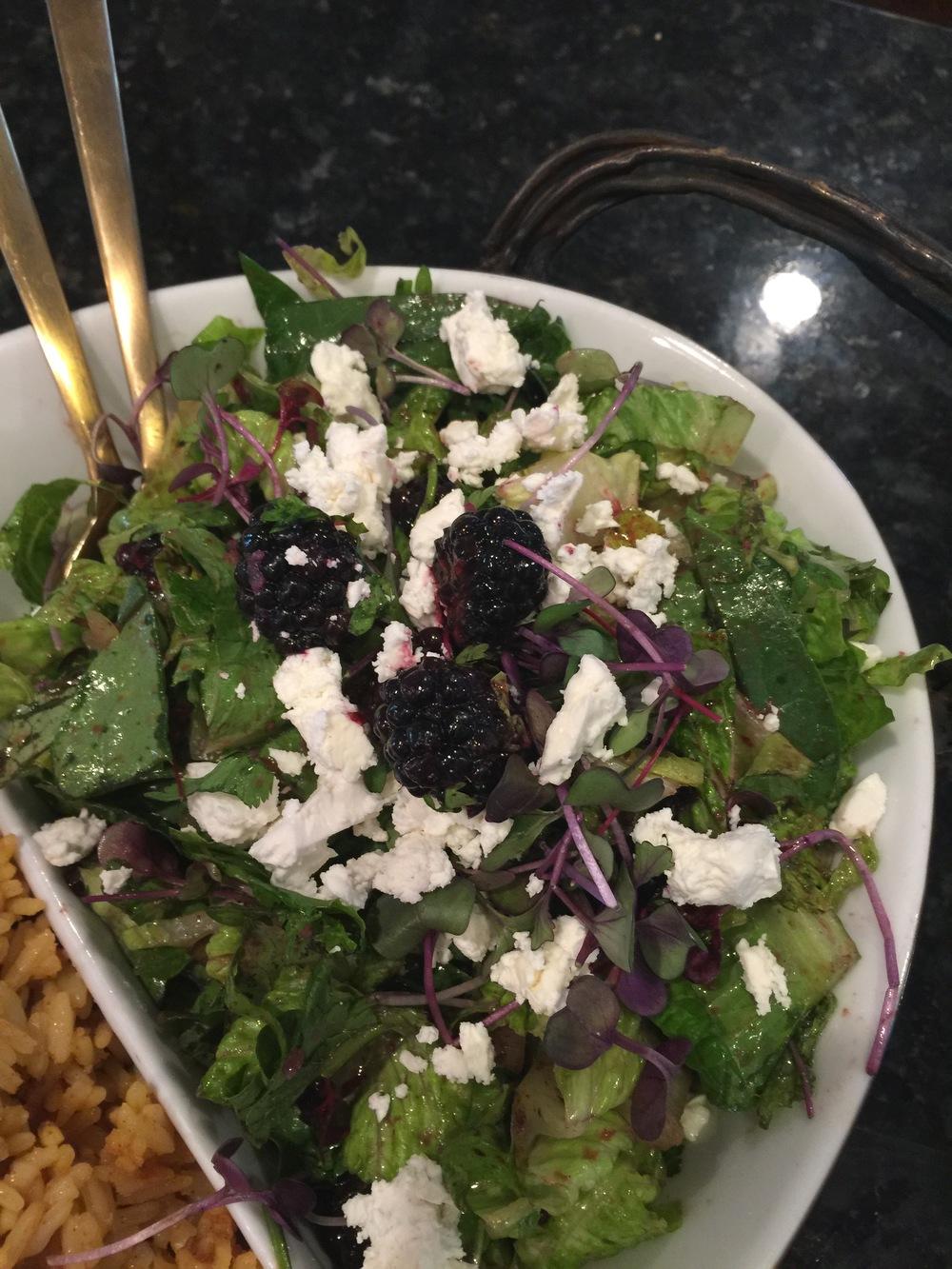 Feta & Berry Salad