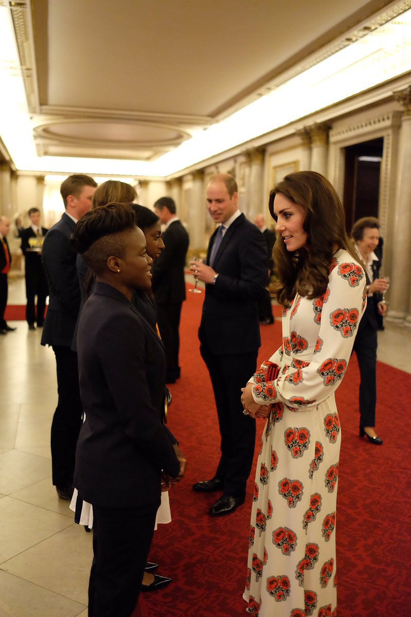 Kate Middleton wears Alexander McQueen