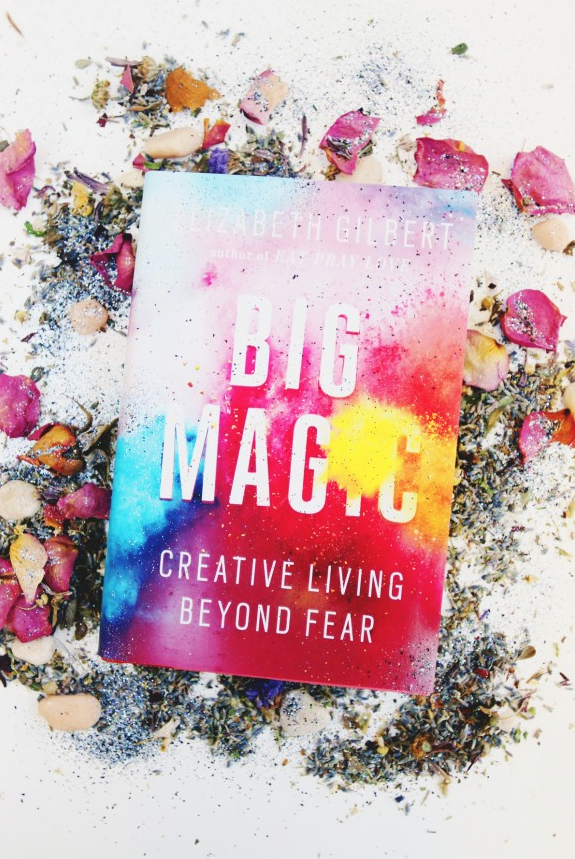 BIG MAGIC by Elizabeth Gilbert (image courtesy of the Free People  blog )