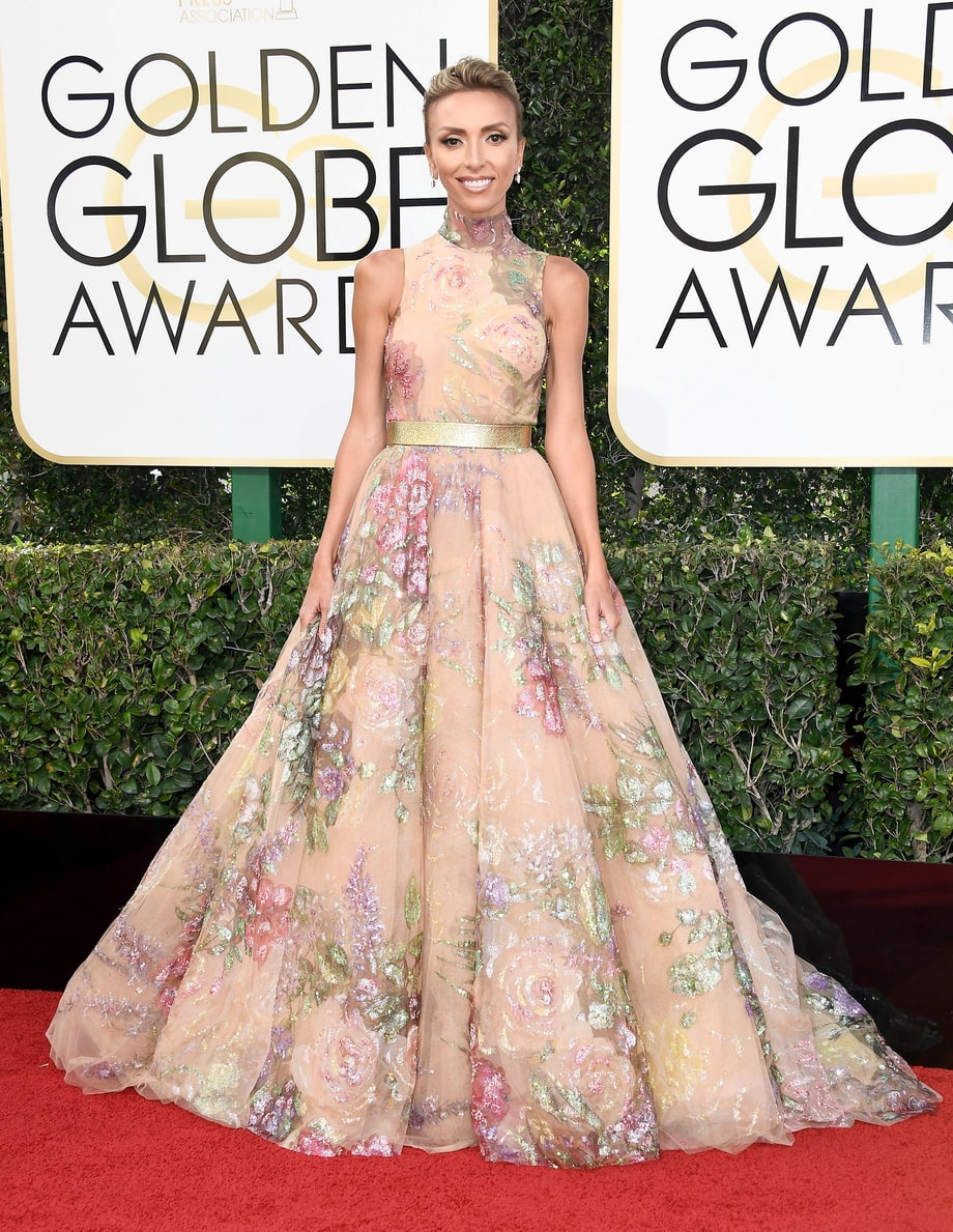 Giuliana Rancic in Rani Zakhem