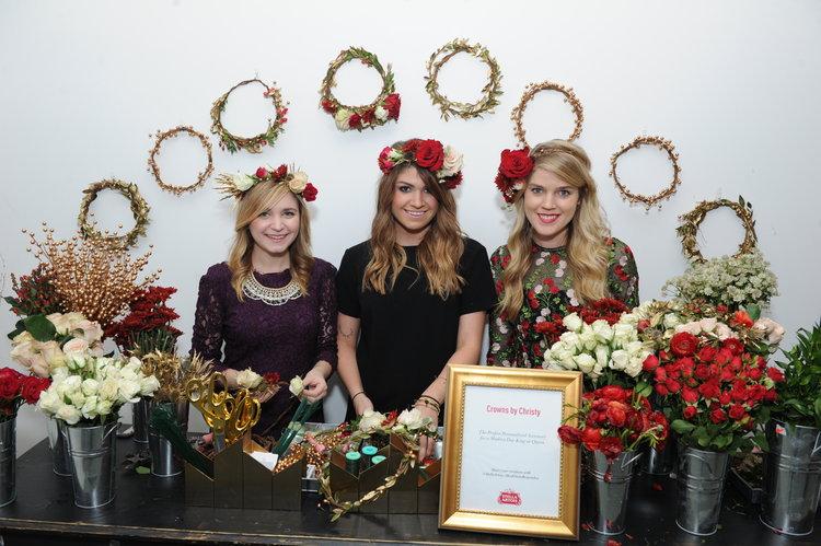 @CrownsbyChristy Flower Crown Bar with Stella Artois