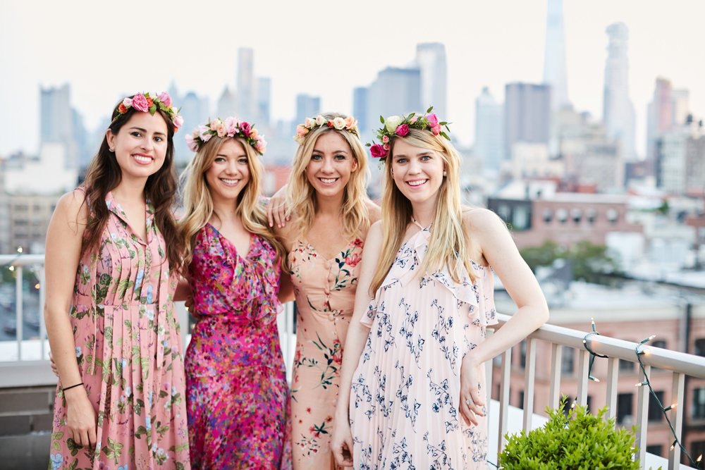 Second Annual #CrownsandRose Rooftop Party with Barrymore Wines