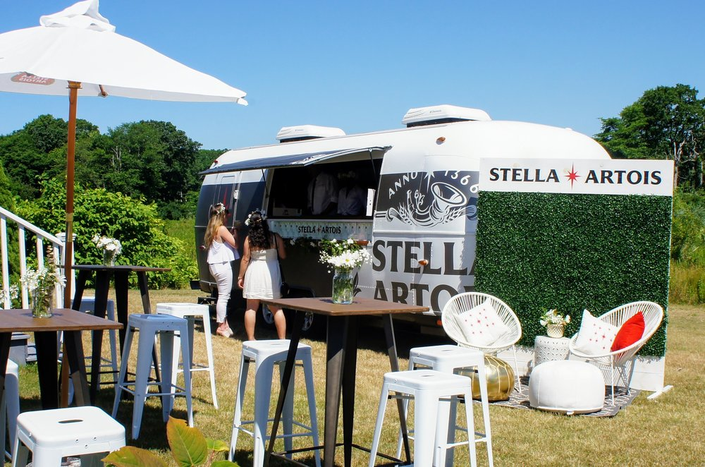 Stella Artois Airstream (Photo Courtesy of Lucy Tobias)