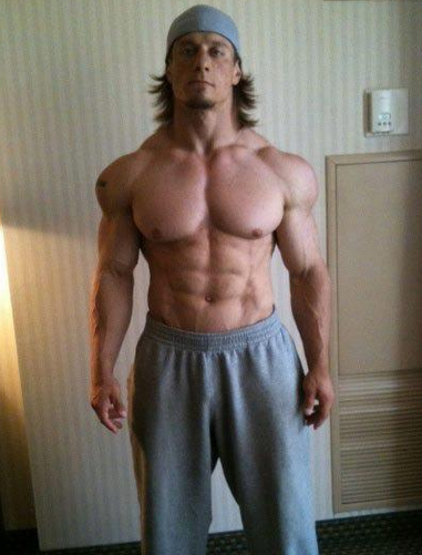 Natural powerlifter physique