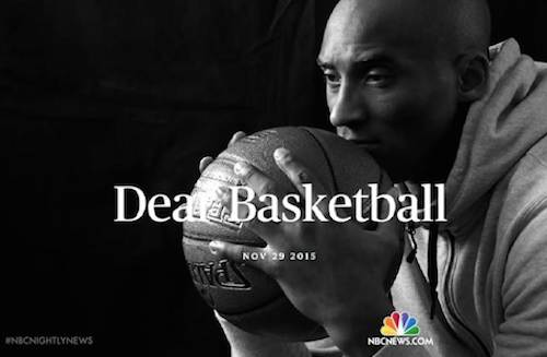 Kobe Bryant Retirement Content Marketing