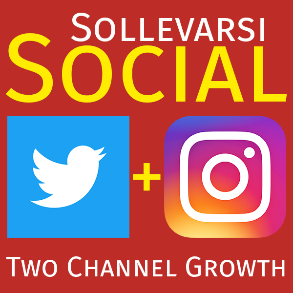 Two Channel Social Growth