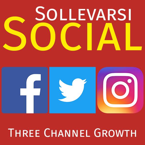 Three Channel Social Growth