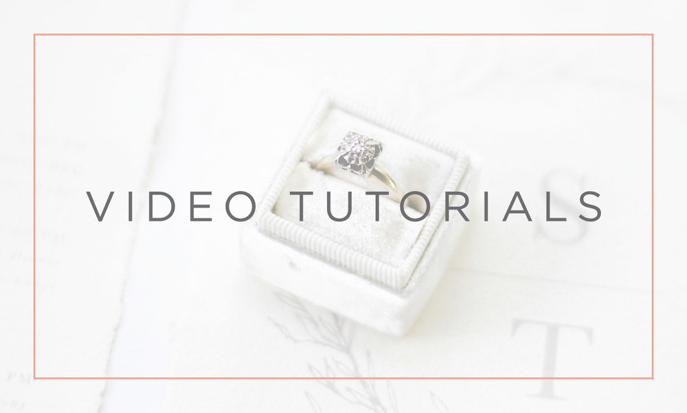 wedding stationery boss video tutorials sarahbcalligraphy