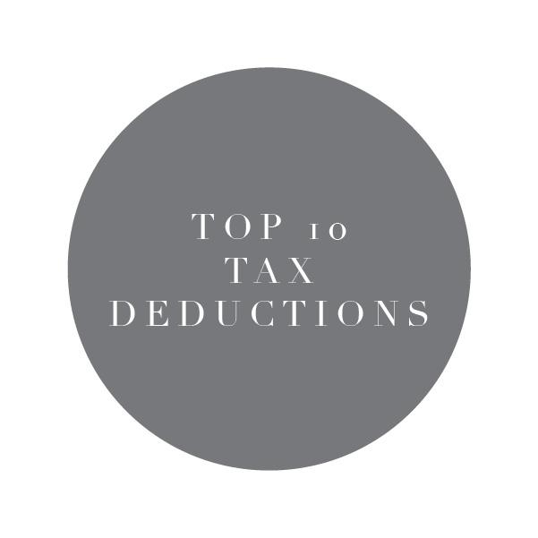 Top 10 Tax Deductions