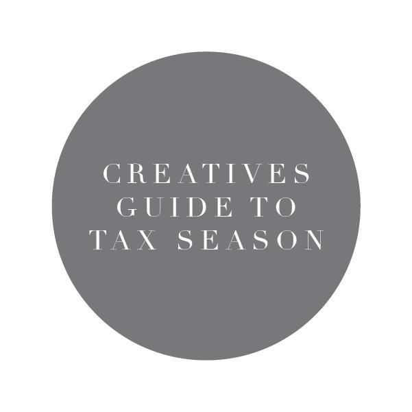 Creatives Guide to Tax Season