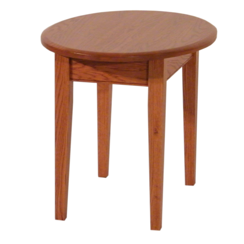 Shaker Oval End Table
