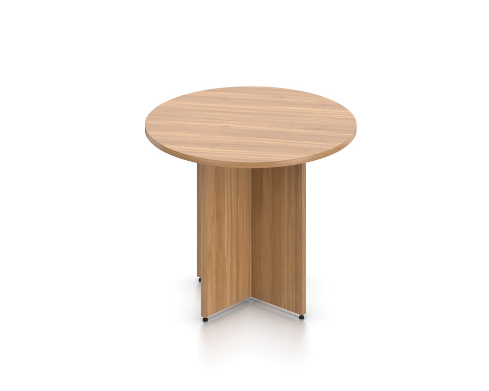 SL36R Round Table with Cross Base