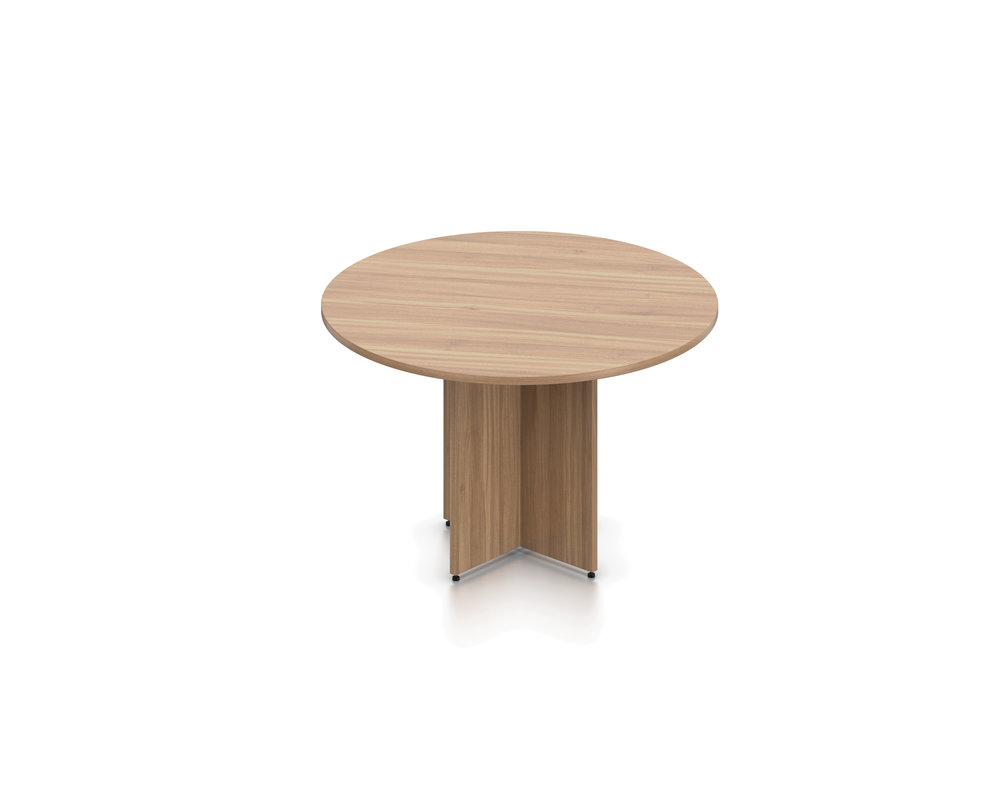 SL48R Round Table with Cross Base