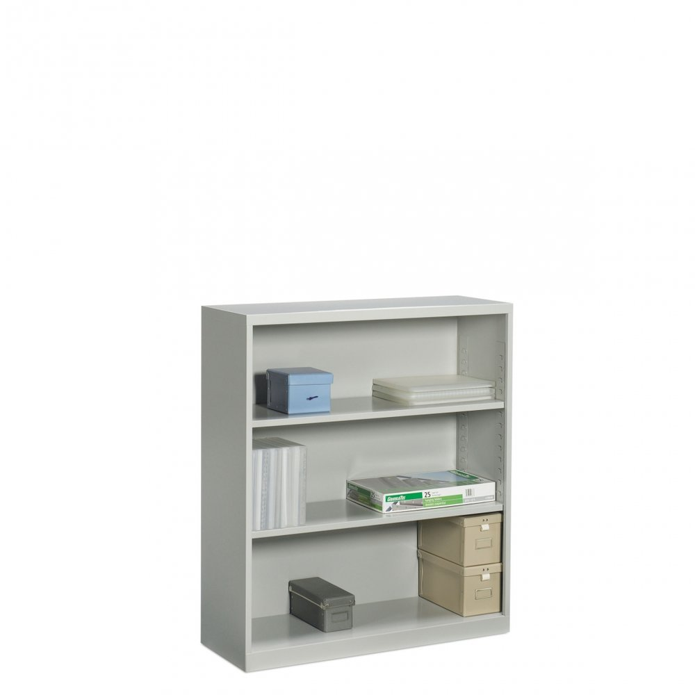 3 Shelf Metal Bookcase