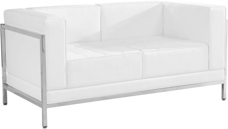 Loveseat, Black - Open Area