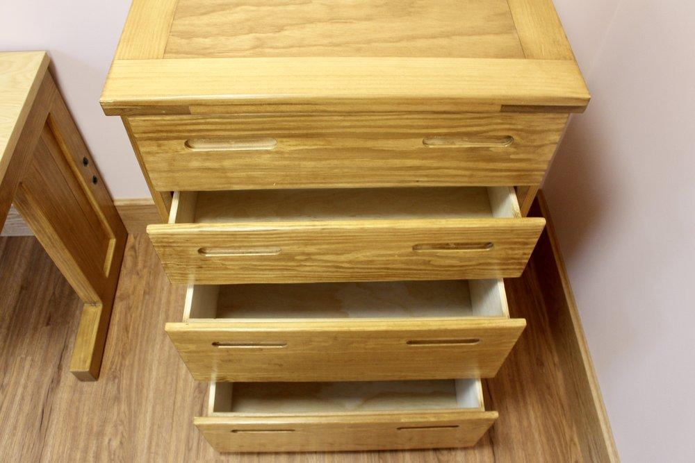 Classic 4 Drawer Bureau