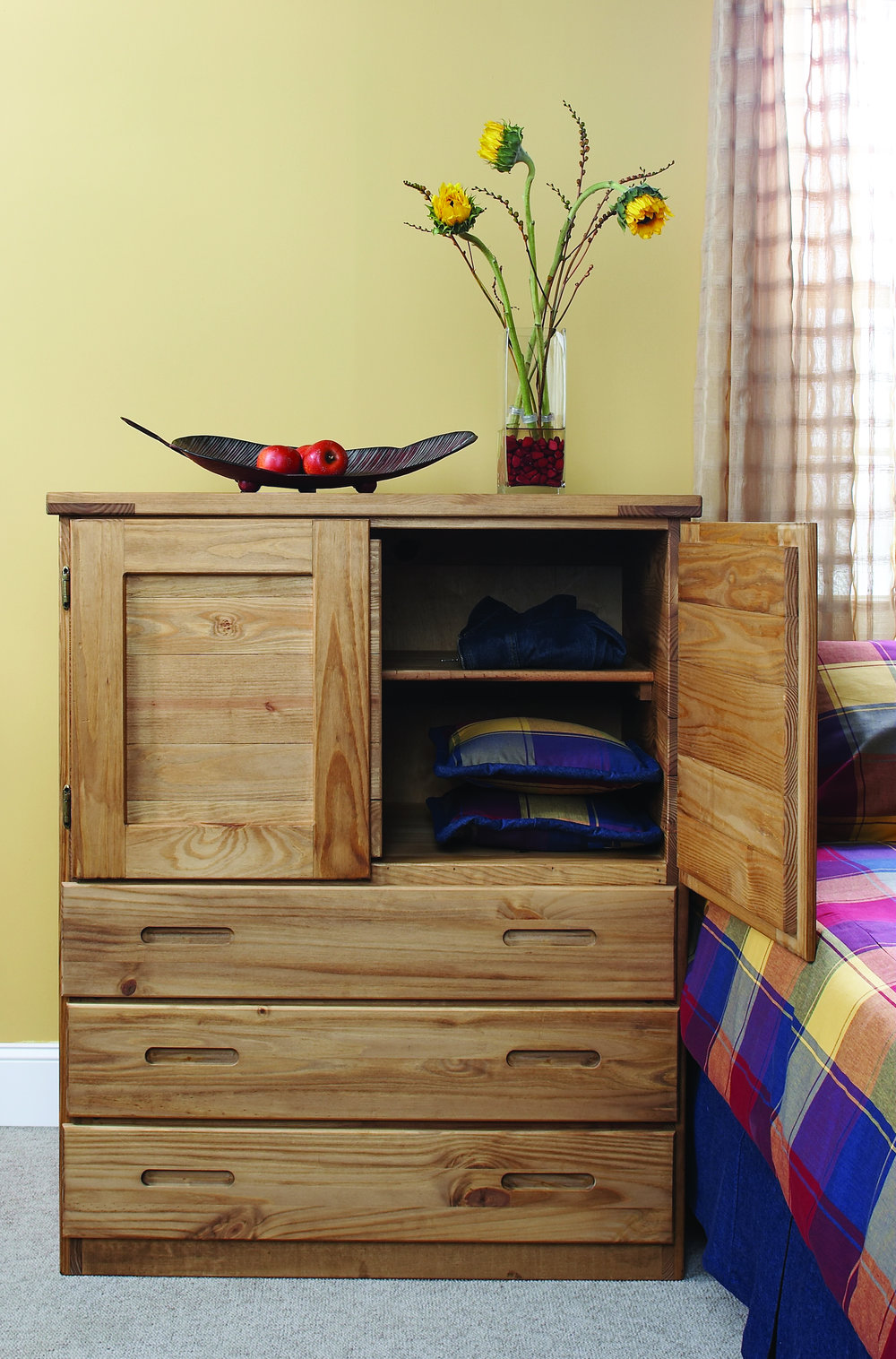 BACHELORS CHEST WITH NATURAL FINISH, list price $875
