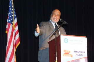 U.S. Rep. Bennie Thompson welcomed Sen. Jones