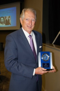 Ronnie Shows accepted the Chairman's Award on behalf Amy Adelman