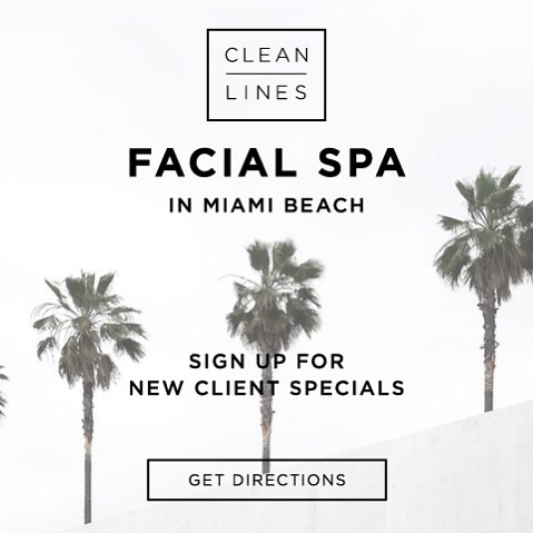 Stay current 🌊  Sign up for Clean Lines emails, specials and pop up locations around town.  Hello@cleanlinesbeauty.com