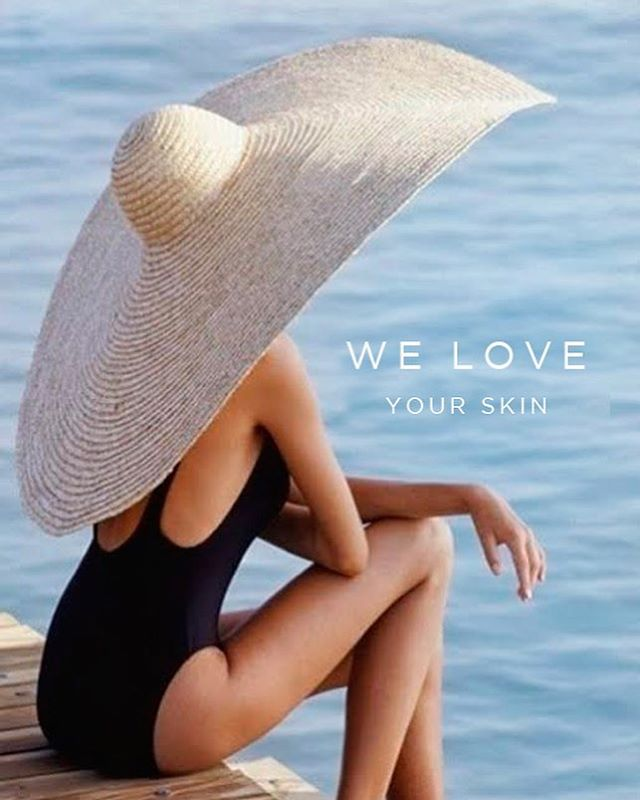 The perfect ☀️ protector is a SPF 30 + and a fabulous sun hat like this one. The Clean Lines ™ loves your skin as much as you do. Remember to book your regular scheduled Facials online or by 📞 us directly 561.757.9283