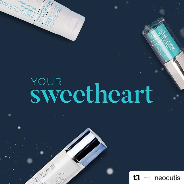 "#Repost @neocutis (@get_repost) ・・・ Nothing says, ""I love you"" like a tailored skincare ritual. Visit The Clean Lines ™ to place your order."