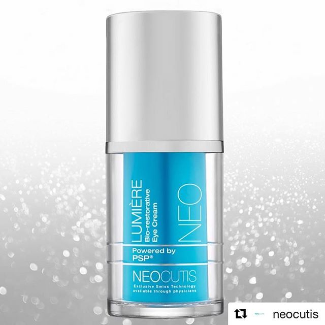 #Repost @neocutis (@get_repost) ・・・ Have you added our LUMIÈRE eye cream to your skincare routine? Just apply morning and/or evening to clean, dry skin to visibly diminish the appearance of under eye darkness.