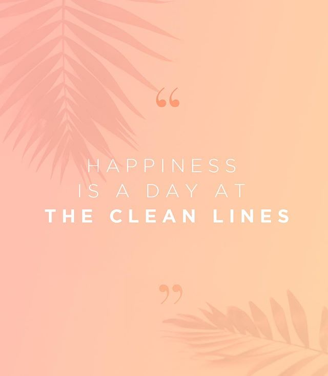 Turn back the signs of aging at The Clean Lines ™ with regular scheduled facials. Our treatments start at 150$ per session *Happy dance included 🕺🏻💃🏽