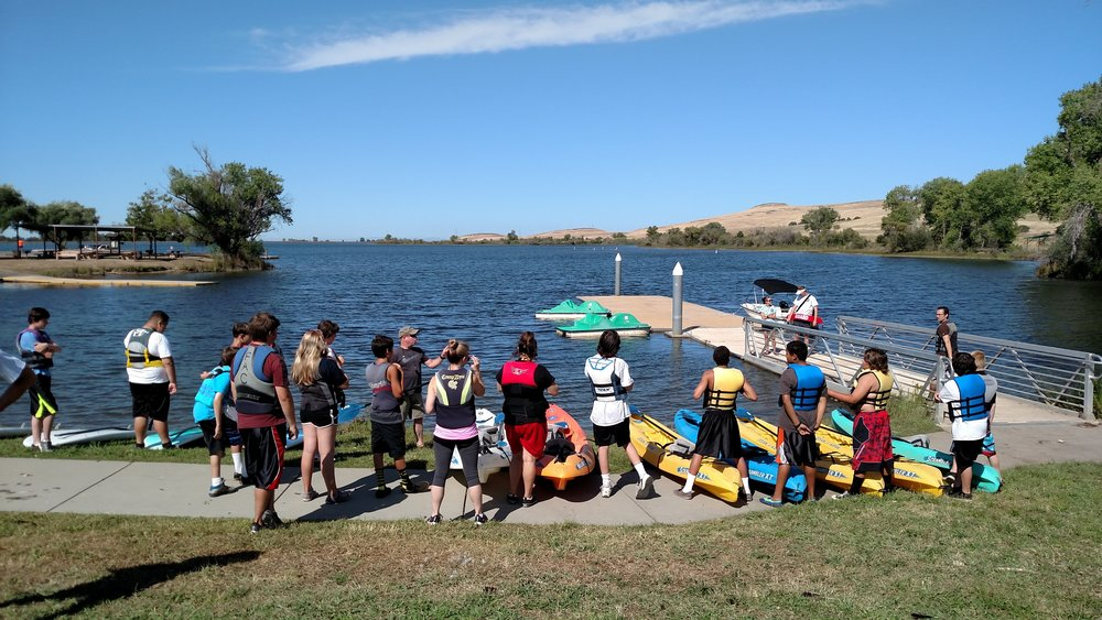 Boating Skills - Offer instruction on four different water crafts to introduce students to the wonderful world of boating.