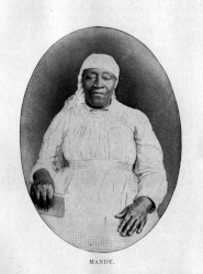 Amanda Bugg was born into slavery on Thomas Miles Watson's plantation.