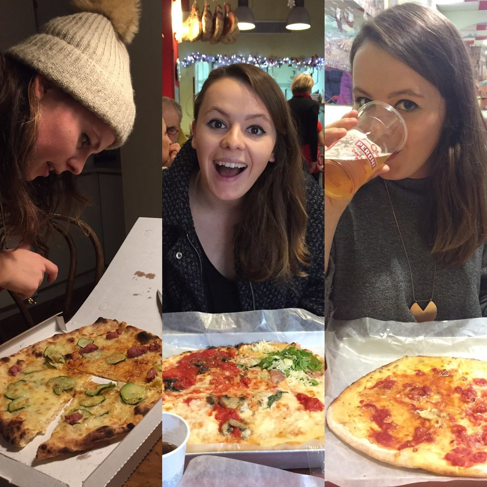Katherine and Pizza: A Love Story