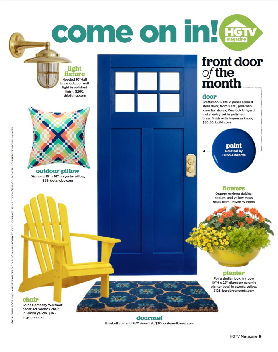 Hgtv Magazine Front Doors Rachel Shippy