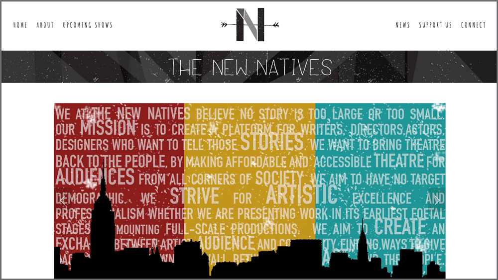 NEW NATIVES / theatre company