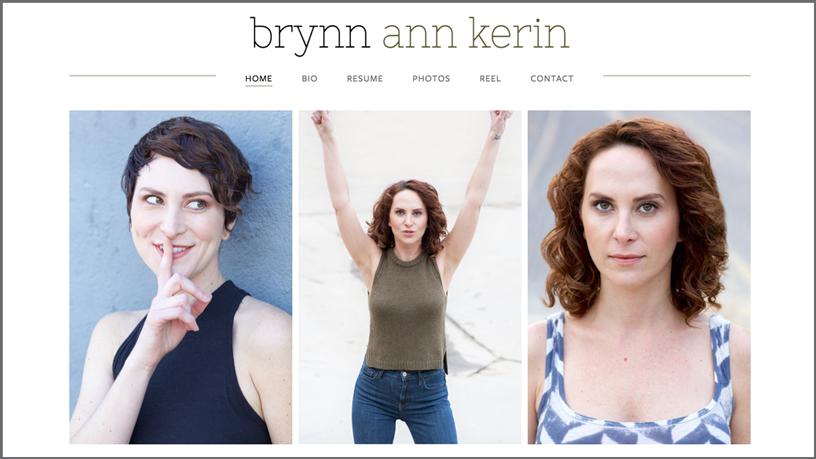 BRYNN ANN KERIN / actress