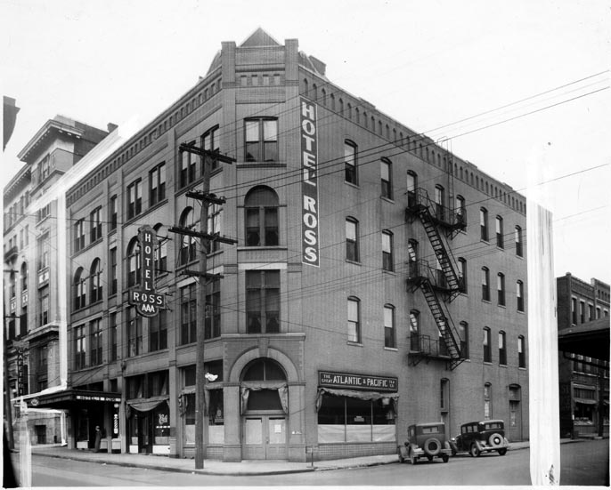 The Tomorrow Building in 1928.