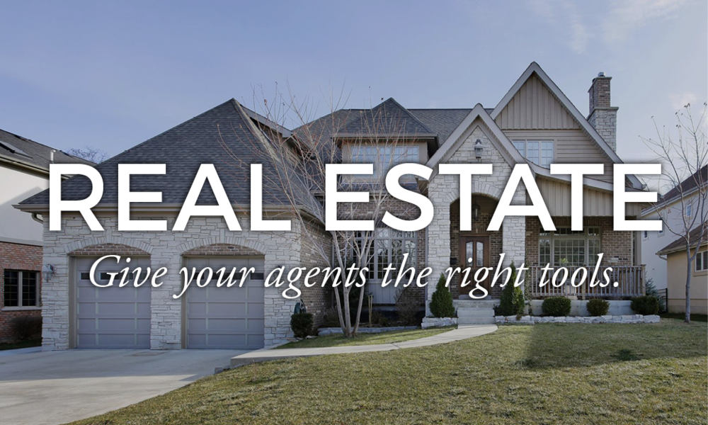 Real Estate Marketing Portals - Give your agents the right tools.