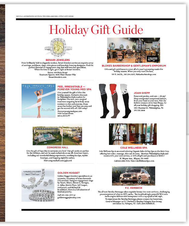 Philadelphia Style Gift Guide copy