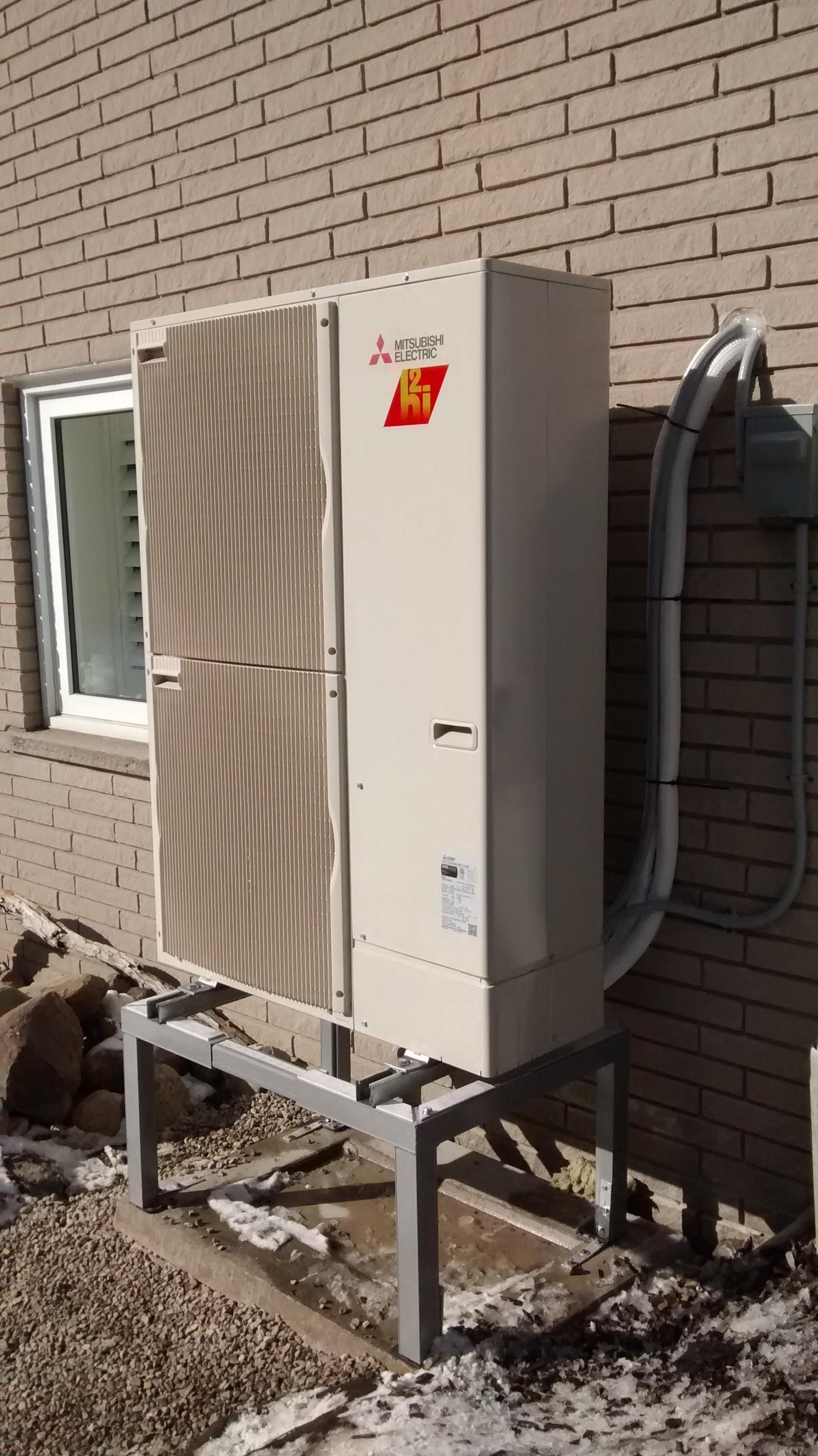 homes net wall mitsubishi heat mount zero reviews pin ductless pump