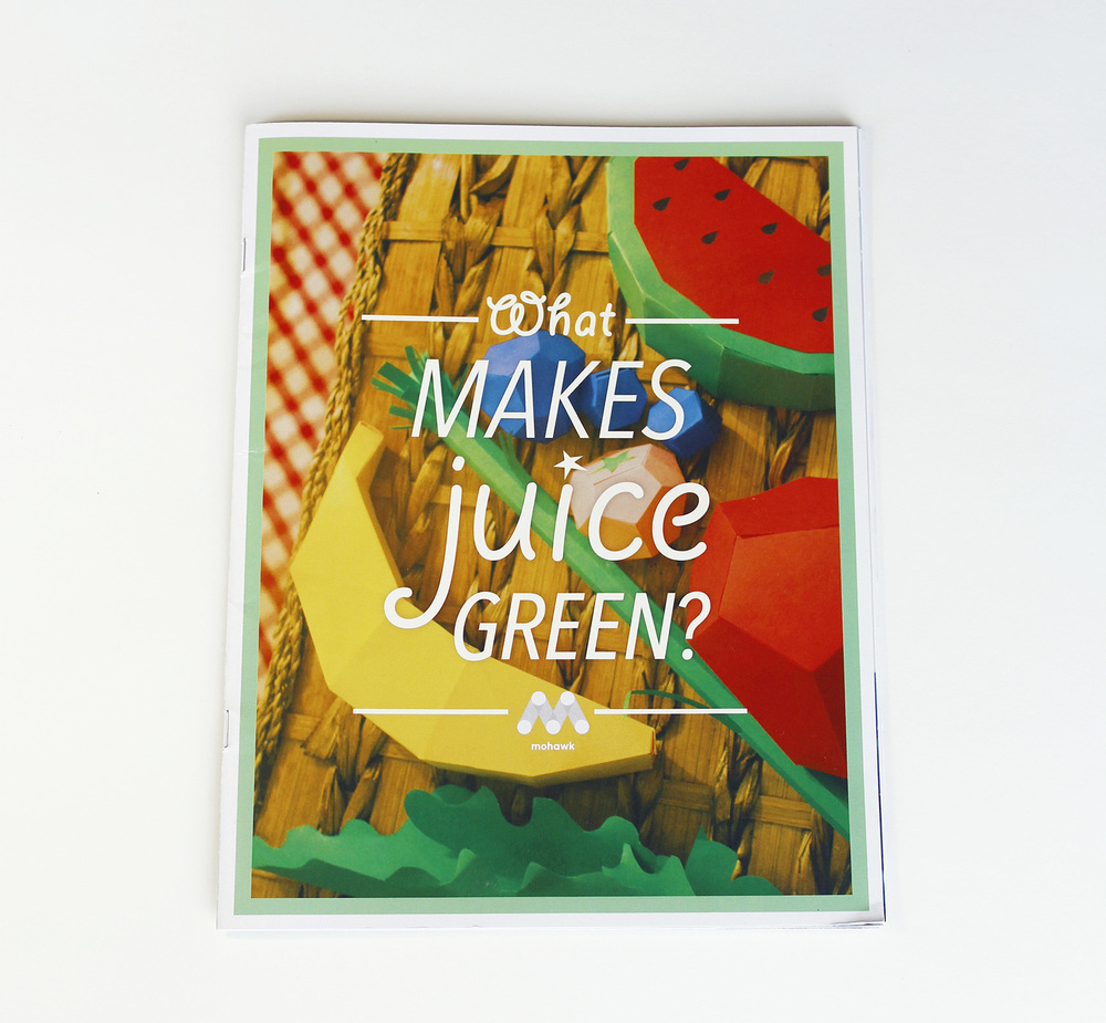Cover design: What Makes Juice Green?