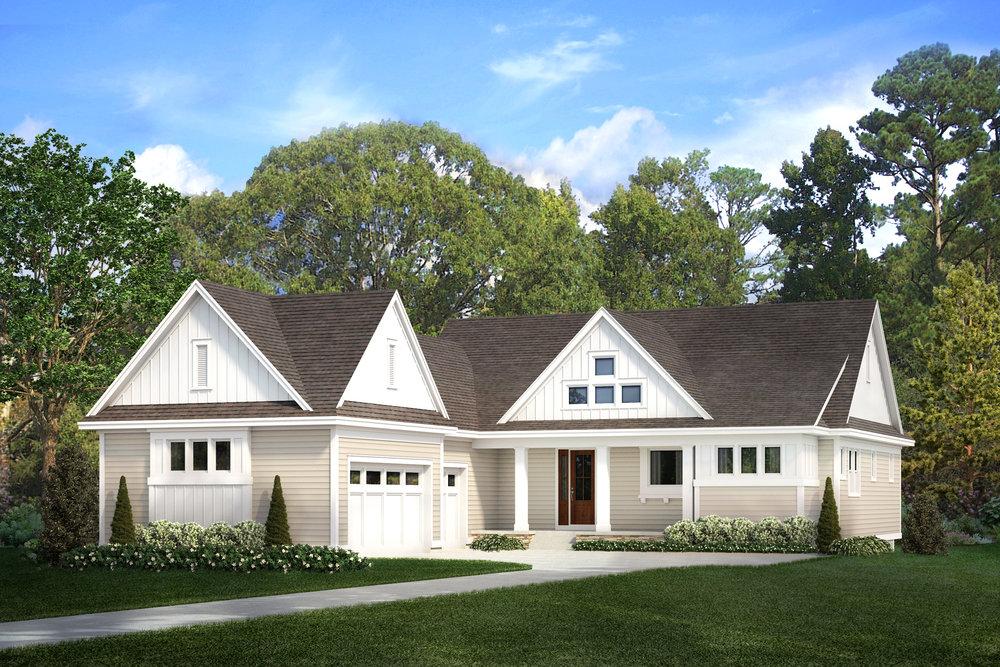 North Oaks Modern Farmhouse