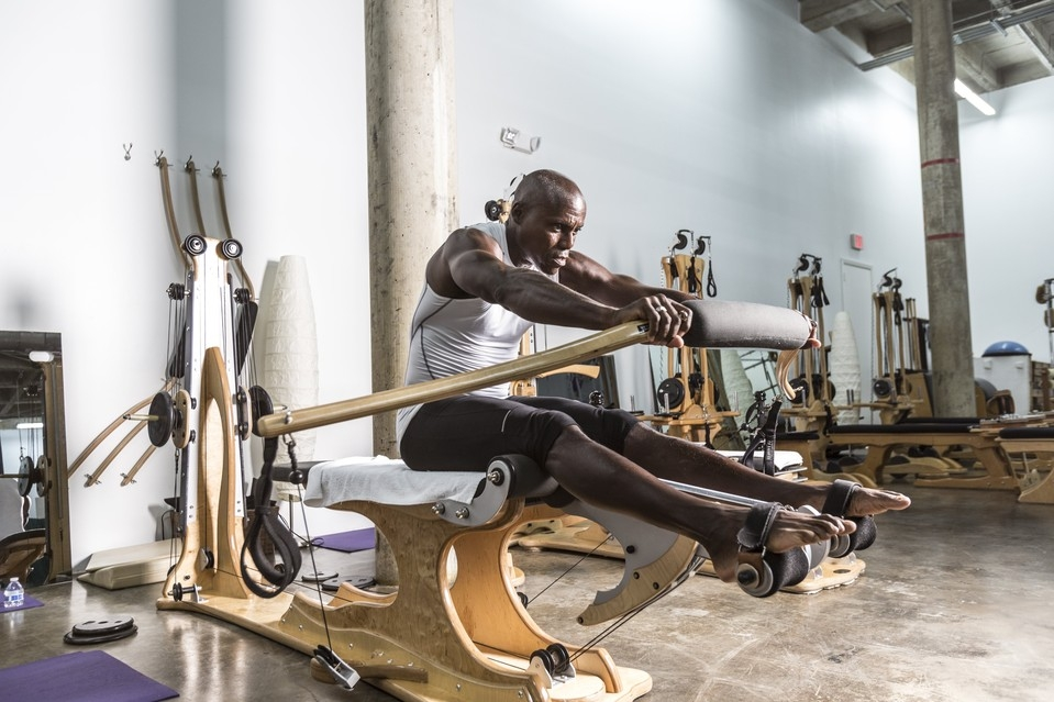 """Wall Street Journal:   """"Gyrotonics Is a Workout That Helps Restore Mobility in the Spine"""""""