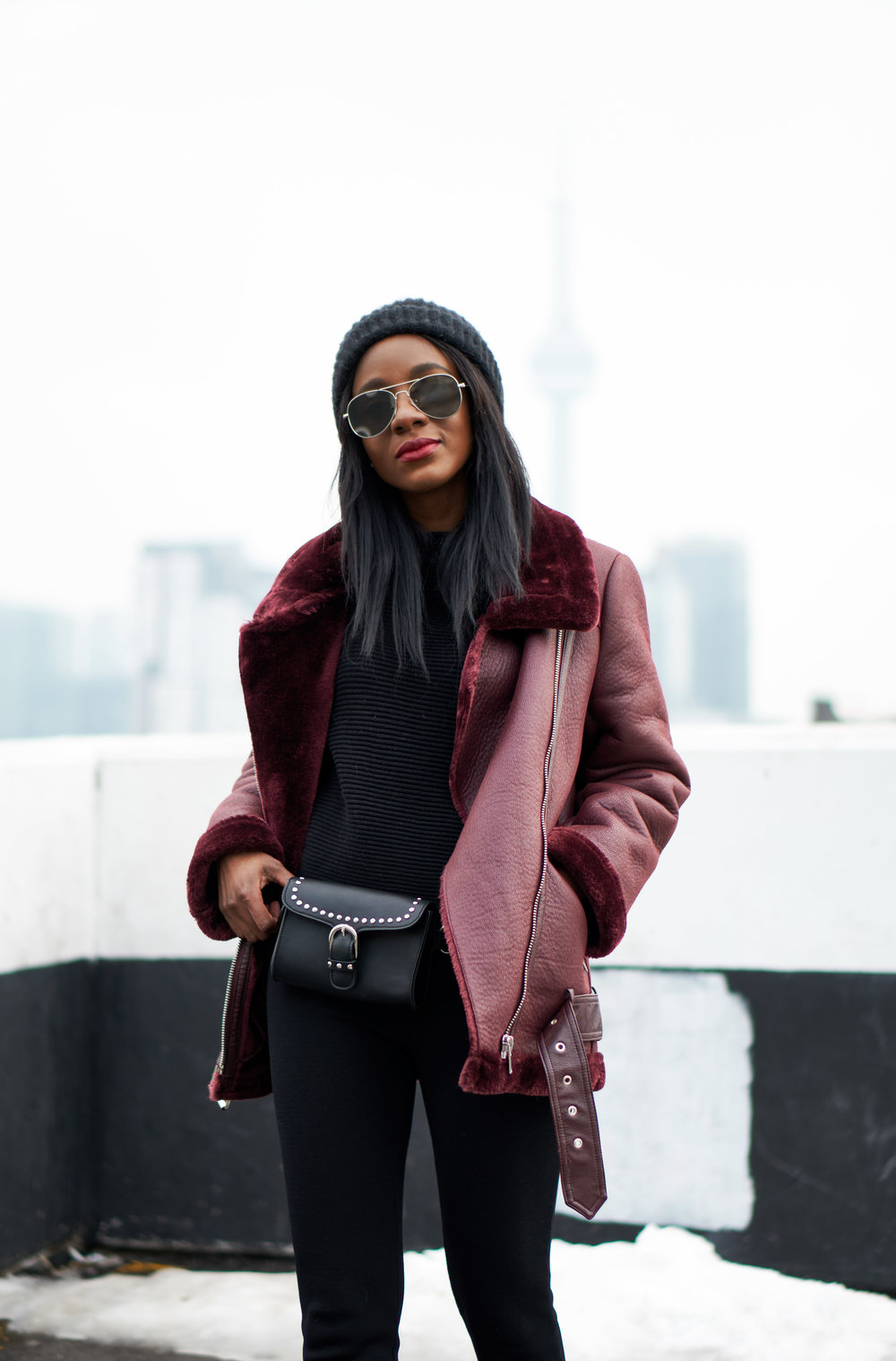 f15c9119 Burgundy-Babe-Leather-Aviator-Jacket-style-and-above-
