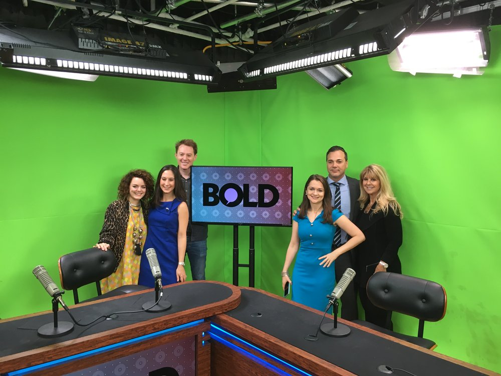 - I had the privilege to share Camellia N. on Bold TV during my recent visit to NYC! Hosts Clay Aiken and Carrie Sheffield and the Bold TV staff were truly amazing!Thank you again for the opportunity the share my message with your viewers.  You rock!